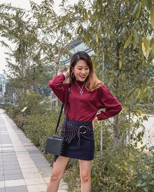 If only I can have sweater weather every day! Wearing the comfiest upcoming @uniqlosg U Mock Neck Long Sleeve T-shirt ❄️ . #ParadeofOOTD #Uniqlo #uniqlosg #clozette