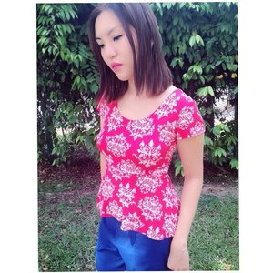 Thanks to @janicefion for the wonderful sponsorship from www.splendidlyred.com #ootd #clozette #red #casual #outdoor #clothing #clothes #splendidlyred #fashion #singapore #sg #blogger #bloggers #bloggersingapore