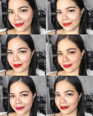 #Lip swatches of @bubuchicph lip and cheek tints💋💋💋💋 Makeup Used: Moisturizer: @embryolisseuk Lait-Crème Concentrè best for dry skin  Primer: @SephoraPH Houglass Veil Mineral  Foundation: @ex1cosmetics invisiwear 4.0  Brows: @detailmakeover  MakeBrow Eyebrow Palette #2  Brow Gel: @ SephoraPH ABH clear Brow Gel Contour: @doll10beauty Cheek to Chic blush and Contour Palette  Blush: @colourette.cosmetics colourtint in Kelsey & Nala  Highlighter: @glamourboxph @ofracosmeticsph  Rodeo Drive  Eyeliner: @kpalette_ph Real Lasting Eyeliner 24H Waterproof Super Black Setting Spray: @gerardcosmetics Slay All Day in Coconut  Contact lenses: @japanesecandy