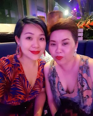 ~~Girls night out in celebrating @marieclairemalaysia 25th anniversary, #marieclaireamazing25!cheers to gal power 😘😉💗😍 It's been quite a while~~