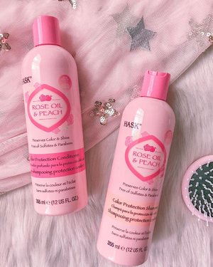 Is your hair treated and colored to much? . Keep your hair color fresh and vibrant by using @haskhairph Rose Oil and Peach color protection line! 🍑 . This protective blend of organic rose oil and juicy peach nourishes and revives color-treated hair, restoring vital moisture to help keep strands feeling strong and shades brilliant.💜 . ✔️Cute pink packaging ✔️Lovely peach and rose scent ✔️Sulfate FREE . Grab yours now! The Rose Oil and Peach color line is available at the following stores nationwide: -Haircare section of the major SM Dept. store and Watsons nationwide -Haircare section of Landmark stores -Rustans Supermarket -Shopwise Supermarket -Lazada Phils (http://www.lazada.com.ph/shop/hask) -Shopee Phils (https://shopee.ph/haskph) . Thanks @revuph and @haskhairph💜 . #haskhairph #colorprotect #roseoil #peach #sulfatefree #beautyblogger #beauty #bloggersph #bloggersofthephilippines #bloggersofinstagram #girlblog #girlblogger #sharingiscaring #blog #blogph #bloggersunited #lifestyleblogger #blogger #bloggerph #bloggersngpinas #bloggersofig #bloggersofinstagram #clozette #lifestyleblog #beautyblogger #contentcreator #contentcreatorsofthephils #theclassicsph #bloggerxph