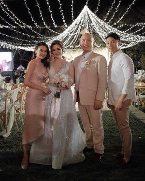#Throwback to our Erjie's Wedding night! ❤️ #winwincelution . . . . . . . . . . . . . . . . . . . . . . . . . . . . . . . .  #wedding #weddingparty #penangwedding #baliwedding #baliweddings #baliweddingvenue #baliweddingguide #weddinglook #ootdmagazinemy #instafashion #mytravelguide #balivacation #bucketlist #traveladdict  #travelblog  #balitrip #balivibes  #fashionstyle #fashionist  #fashioninspo  #fashionblogger  #fashionpic #fujifilm #balistyle #balilove #infobali #ilovebali #clozette