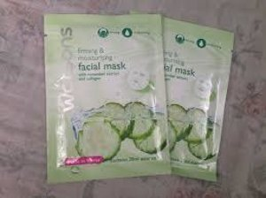 Whitening facial mask cucumber! :)