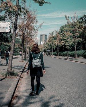 Ang simula ng mahabang lakaran👣 ✨✨✨ #FeyInOsaka #WhenInJapan #OsakaManNaroroon #clozette