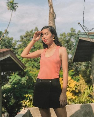 Soaked in the sun for a while for that much needed sunlight ✨ a.k.a doing it for the gram lol - Top: @f21philippines #ForeverOn 💗 Necklace: @lightinthebox #lightinthebox #ilovelitb - #BLOGGERxPH #theclassicsph #clozette #VinaPresets
