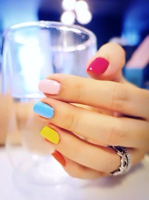 Can't decide what do to yet for next week's nails...