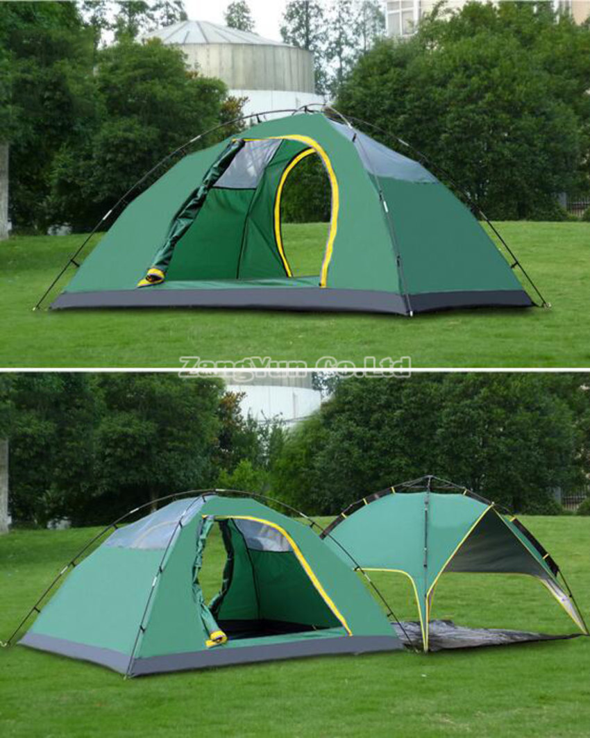 3-4 Person Double Layer Multiple Use Camping Tent
