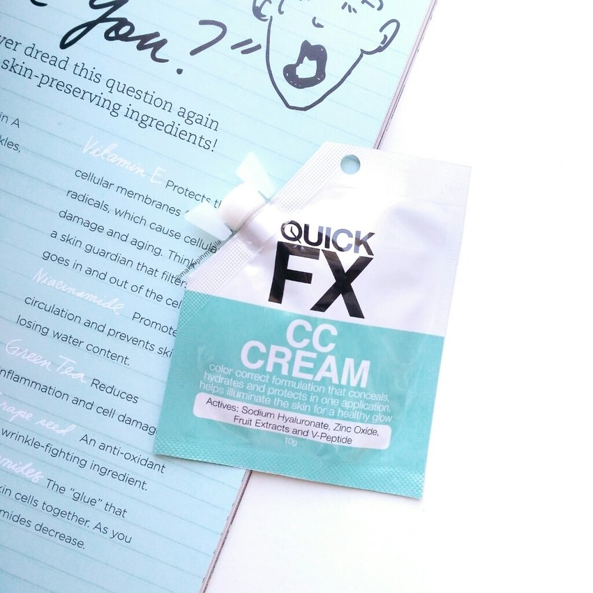 Looking for a CC Cream that doesn't just whiten your face? Here you go... a real color correcting cream now up on the blog!  Read here:  http://themakeupinmanila.blogspot.com/2016/02/quickfx-cc-cream.html
