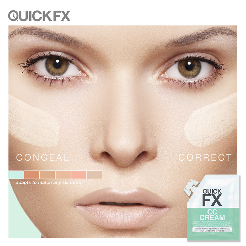 QUICKFX now has a CC Cream! Done testing out the CC Cream! Just need to write it :)  http://themakeupinmanila.blogspot.com/2016/01/conceal-correct-with-quickfx-cc-cream.html