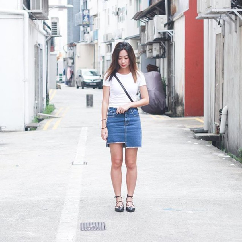 Feel the fresh air on my face and the wind blowing through my hair#axdelwenthreads #stylexstyle #clozette #afstreetstyle #ootdcampaign #wearsg #ootdmagazine #lookbooksg #lookbookasia #ootdsg #throwback #ootd