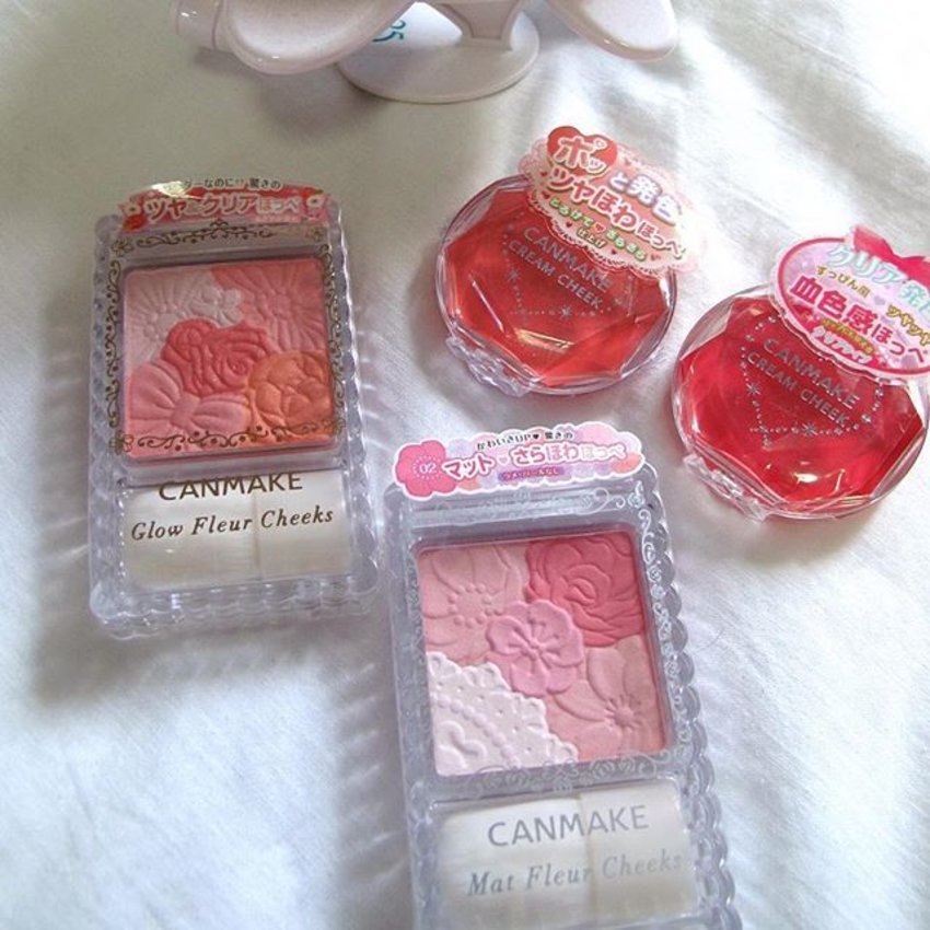 😈 WARNING: #Makeup Madness (4)  こんにちは #日本!! 🎊🇯🇵 😉 Check out their no.1 drugstore brand #Canmake (famous for their soft and natural looking blushers)!! BEST of all: canmake are having 20% OFF + Buy 1 Get 1 FREE Cream cheek blush promo!! 🙆🏻 Dont say I #boJio ah! Haha!  Happy shopping!! ❤️ #clozette #clozetter #tagsforlike #instagramHub #instalikes #instadaily #igbeauty #igers #igsg #makeupHaul #makeupLover #makeupjunkie #makeuphoarder #bblog #beauty #bblogger #beautyFind #beautyTalk #beautyShareIt