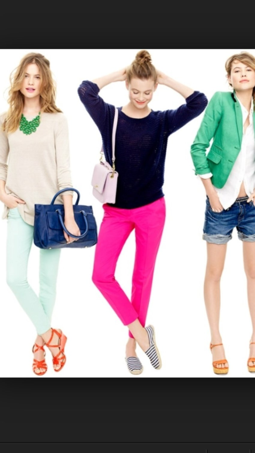 Looking for everyday casual look? What about these 3 options?