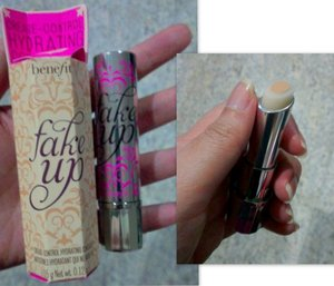 This is arriving on April 2013. A super-hydrating concealer stick called Fake Up by Benefit Cosmetics.