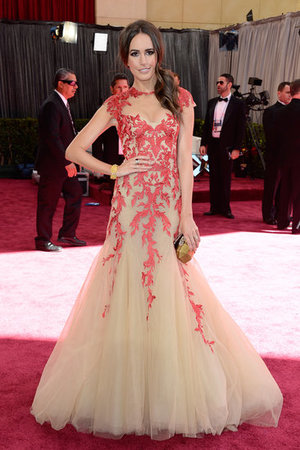Best Oscars Dresses 2013 | Louise Roe in Monique Lhuillier