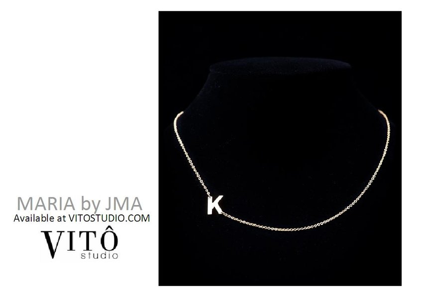 PICK OF THE DAY: MARIA by JMA necklaces available at VITOSTUDIO.COM